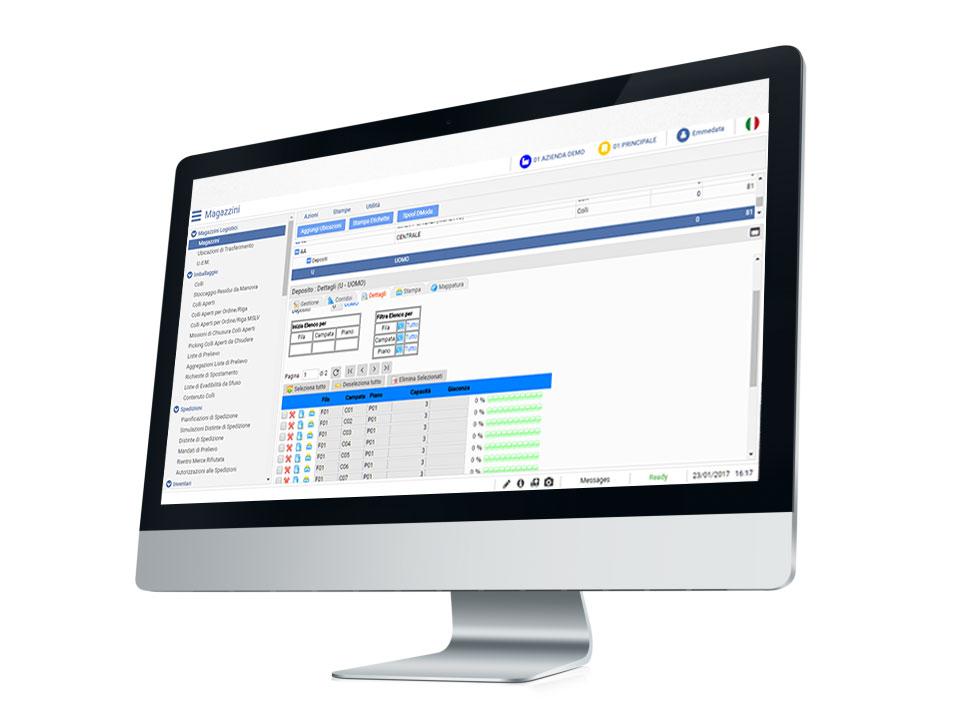 software gestione magazzino D-moda Logistic 2